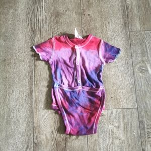 3/$12 Baby's Own tie dye onesie 12 m